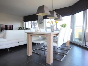 Prachtige penthouse (177 m²) met veel ruimte en groot terras in mooie residentie. Indeling: inkom- en nachthal, berging, apart toilet, riante lee