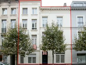 opbrengsteigendom Mooi gerenoveerd herenhuis met 8 zéér verzorgde studios en appartementen (waarvan 7 vergund !) in een rustige straat m