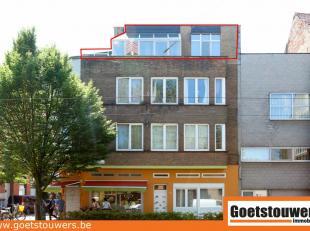 Gunstig gelegen ruim appartement met 2 slaapkamers en groot zuid-georiënteerd terras. Aangename ligging bij tramhalte met goede verbinding naar C