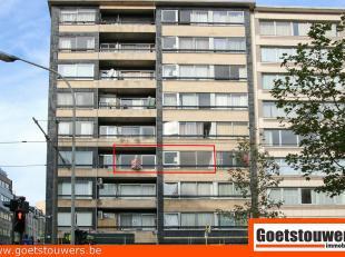 Betreft een zeer gunstig gelegen appartement met 1 slaapkamer aan de Belgiëlei op de hoek met Lange Leemstraat, dit in de directe omgeving van he