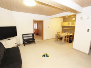 Zeer ruim gerenoveerd 2-slaapkamer appartement met grote duplexruimte beneden (in totaal 180 m² bruikbare vloeroppervlakte). Gelegen vlakbij wink
