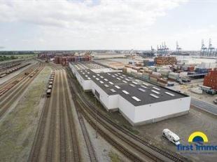 3 grote magazijn hallen te huur can elk 864 m² beschikbaar op de industriezone Kaai 746 te Antwerpen!