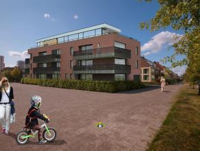Luxueus nieuwbouwproject tegenover de jachthaven op Linkeroever ! Appartement 103 - 118 m² + 19 m² terras - 3 slaapkamers Schuin tegenover d