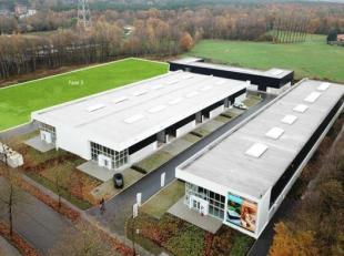 Bedrijfsruimten & showrooms vanaf 132 m², gelegen in het nieuwe businesspark Zuiderpark te Genk.<br /> Unit 39 heeft een oppervlakte van 279,