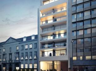 Riant cascoappartement gelegen op de8ste verdieping in het renovatieproject Gilliams Lofts, op een absolute toplocatie te midden van de stad met veel