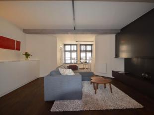 Luxueus gemeubeld appartement in het historisch centrum met twee slaapkamers en autostaanplaats.