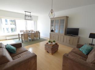 Nieuw gemeubeld appartement op het Zuid nabij de Waalse kaai met twee slaapkamers.