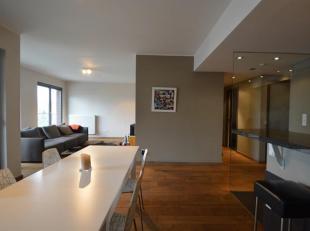 Twee-slaapkamer appartement gelegenaan het Kempisch Dok en op wandelafstand van het Eilandje.