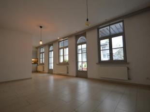 Royaal gerenoveerd appartement in oude stadscentrum met mooi zonneterras.Indeling: Inkomhal met gastentoilet. Zonnige leefruimte met aansluitend een v