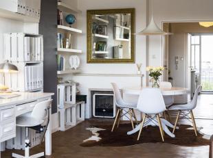 Uniek stijlvol & licht appartement op de 8e -en hoogste- verdieping, met prachtige verzichten.