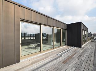 Nabij de Gedempte Zuiderdokken en het Museum Van Schone Kunsten bevindt zich deze prachtige penthouse.<br /> Mogelijke indeling: inkomhal met gastento