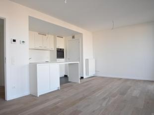 Eén slaapkamer appartement gelegen in nieuwbouwrealisatie Cadiz. Mogelijkheid tot het bijhuren van een autostaanplaats aan  100 per maand.