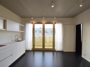 Prachtig afgewerkt nieuwbouwappartement met terras en parking op het Eilandje<br /> Dit appartement met 1 slaapkamer en hoogstaande Bulthaup keuken is