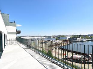 Penthouse van ca. 90m2met prachtig en royaal zonneterras met zicht op water gelegen in het nieuwbouwproject KAAI 37 naar een ontwerp van Office Kerste