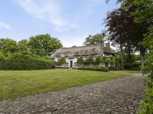 Op een centrale locatie in hartje Vriesdonk bevindt zich deze rietgedekte villa met zwembad en poolhouse.<br /> Indeling: Inkomhal met gastentoilet en