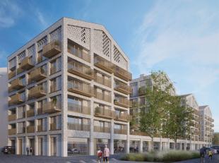 Ruim 2 slaapkamer appartement met royaal terras gelegen op het bruisende Eilandje in het project Binnenvaert.<br /> Indeling: Inkomhal met gastentoile