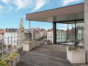 Unieke penthouse met prachtige terrassen en een adembenemend zicht over de Marnixplaats en het bruisende en hippe Zuid.<br /> Op de Marnixplaats, vlak