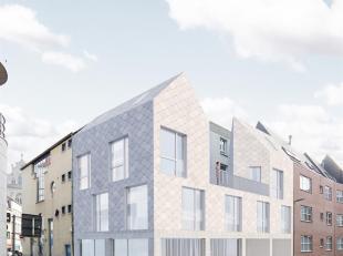 Te midden van de stad op wandelafstand van de Grote Markt en de Scheldekaaien bevindt zich deze bouwgrond met bouwvergunning voor het bouwen van een e