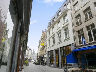 Appartement ca. 102 m2 gelegen op wandelafstand van de Grote Markt met mooi terras.<br /> Indeling: Inkom met vestiaire en gastentoilet, ruime en lich