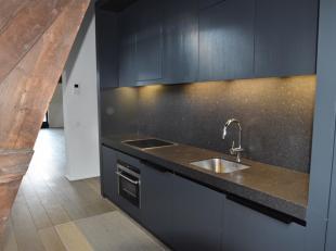 Loft appartement gelegen op de tweede verdieping op toplocatie<br /> in Antwerpen tussen de Kammenstraat en de Huidevettersstraat. Dit appartement wer