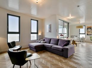 Prachtig afgewerkt appartement met panoramische zichten op het Eilandje.<br /> Het betreft een zeer ruim samengevoegd appartement, hedendaags ingerich