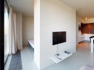 Gemeubeld 1 slaapkamer appartement met zicht op de Schelde.<br /> Indeling: Hoogwaardig afgewerkt appartement gelegen op de derde verdieping. Inkomhal