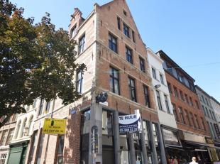 Commerciële gelijkvloers in historisch pand op toplocatie in de Antwerpse binnenstad!