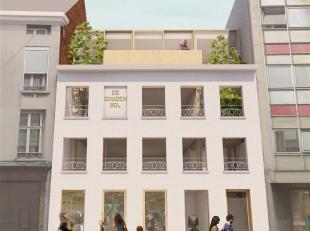Deze handelsruimte bevindt zich op het gelijkvloers van een kleinschalig nieuwbouwproject in hartje Mechelen. Het pand beschikt over een grote etalage
