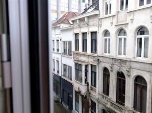 Appartement  met ruime living (28m²) en twee slaapkamers (elk 15m²) in een zeer rustig gebouw. Nabij openbaar vervoer en winkelstraten (Jezu