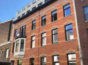 Prachtig duplex designappartement (135 m²) met 3 terrassen in hartje Antwerpen, gelegen op de derde verdieping, in de zeer aangename buurt aan de