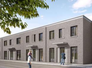 Nieuwbouwwoningen in nieuwe kindvriendelijke wijk nabij Antwerpen Centrum, gelegen tussen 2 parken en naast een prachtig zeilmeer. Woningen met een fa