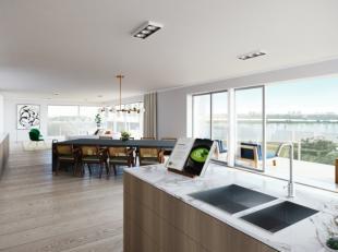 Stijlvol, frontaal 3 slaapkamer appartement met adembenemend zicht op het zeilmeer en Antwerpen.<br /> Ruime slaapkamers, ruime leefruimte, luxueuze b