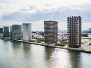 Luxueus appartement van ca 70m² met 1 slaapkamer en terras. Het appartement is gelegen op de 8e verdieping van toren 2 die omgeven is door het Ka