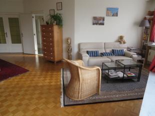 Zeer aangenaam ruim en licht appartement met 2 slaapkamers en terras gelegen op het pleintje van de Van Putlei. Ideale locatie dus om snel Antwerpen s
