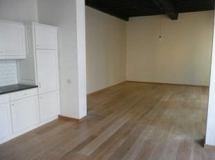 Tof, gerenoveerd  appartement van +/-95m²  gelegen op 1ste verdieping van mooi gebouw, in het hartje van de oude binnenstad. Inkom met ingebouwde
