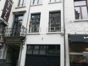 Deze woning werd volledig gerenoveerd en is gelegen in het absolute centrum van de stad vlakbij de Groenplaats, Grote Markt en de Kathedraal. Op het g
