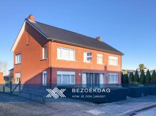 Landbergh- bezoekdag: deze halfopen bebouwing nabij het centrum van Zottegem bezoeken op zaterdag 14 december tussen 11u en 13u? (Enkel op afspraak).D