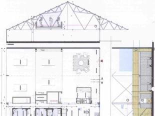 2de en 3de verdieping : 500 m2 Gevraagde verkoopprijs : 875.000,00 euro Gevraagde verhuurprijs : 4.800,00 euro/maand (exclusief kosten) Verhuurprijs p