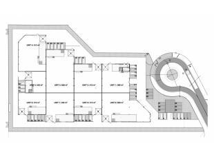 - staalconstructie - geïsoleerde wanden en geïsoleerd dak - dak voorzien van dubbelwandige lichtkoepels - verlichting : kwikdamplampen - vri