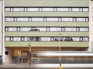 Betreft een nieuwbouw bio ecologisch passief kantoor gebouw opgedeeld in verschillende Units. Het gebouw is gelegen op de Turnhoutsebaan in Antwerpen