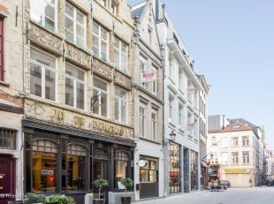 Charmant kleinschalig vernieuwbouwproject in het hartje van Antwerpen met zicht op de Grote Markt. Deze unieke locatie herbergt 9 volledig gerenoveerd