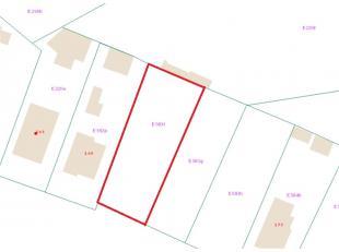 Bouwgrond voor open bebouwing op 7a84 te Olen.<br /> Centraal gelegen bouwgrond van 7a84 met een straatbreedte van ca 16m en een diepte van ca 46m. Vl