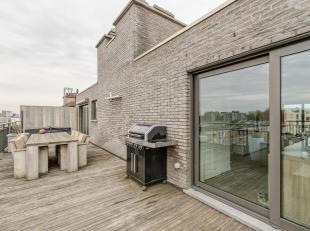 Uniek dakappartement met ruim terras van 43m²<br />  Indeling:Woonkamer met open keuken, berging, apart toilet, 2 slaapkamers, badkamer, terras,