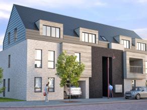 Prachtig nieuwbouwproject meteigentijdse uitstraling van 7 appartementen (3 gelijkvloers en 4 duplex), ondergrondse staanplaatsen en kelderbergingen,