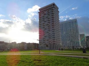 Prachtig appartement in de lichttoren aan park Spoor Noord! Indeling: inkomhal, living met open keuken, wc, badkamer, 2 slaapkamers, terrasBeschrijvin