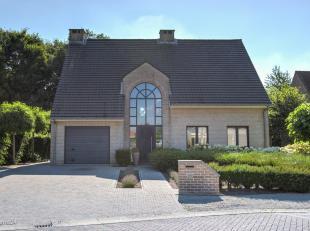 Prachtige villa op een perceel van 831m² gelegen op een boogscheut van het centrum van Vosselaar, nabij het Diepvenneke en nabij in-en uitvalsweg