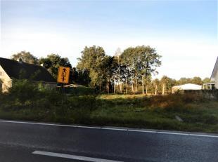 Goed gelegen bouwgrond (1 057 m²) voor halfopen bebouwing, ZW geörienteerd.<br /> Ligging: Langs de N119 (Verbindingsweg Turnhout - Nederlan