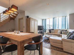 Openhuizendag zaterdag 23 maart 2019 van 14.00u tot 15.00u<br /> Duplex appartement met 2 slpkrs en aangenaam terras (20m²).Ligging:Ideaal gelege