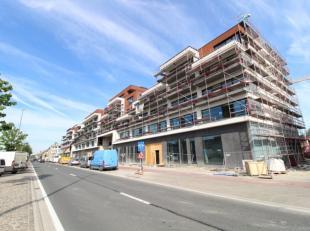 De knappe retailruimte van 186 m² bevindt zich in het zeer succesvolle project Tribeca te Gent. De handelsruimte geniet van een ideale visibilite