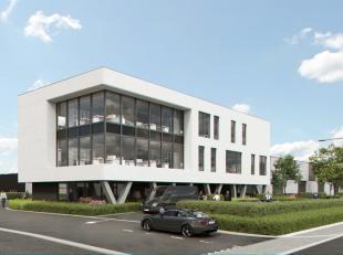 Prachtige kmo-unit met mooie kantoorruimte of showroom met 871 m² opslag of productieruimte. Deze ruimte maakt deel uit van een nieuwbouwproject
